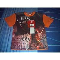 Camiseta Star Wars, naranja