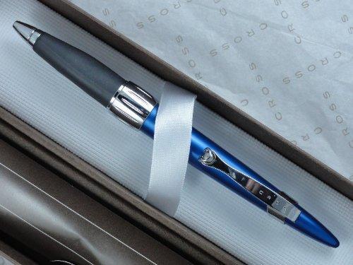 A.T. Cross Morph matt Electric Blue mit verstellbarem Griff und Polieren Amts Kugelschreiber