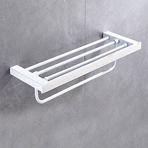 Losa porta asciugamani europeo in acciaio inox mensola bagno verniciato bianco ciondolo porta - Amazon porta asciugamani bagno ...