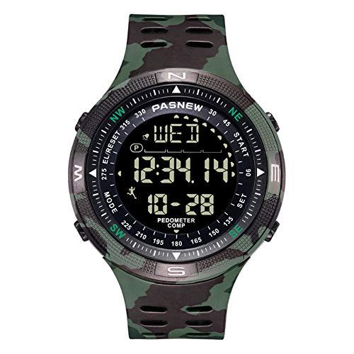 Pasnew Hombre Digital Relojes Hombre Relojes Deporte