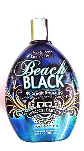 Beach Black 99x Bronzer Indoor & Outdoor Tanning Lotion By Brown Sugar Tan Inc. 13.5oz Bottle (400ml) by TAN (Lotion Outdoor-tanning)