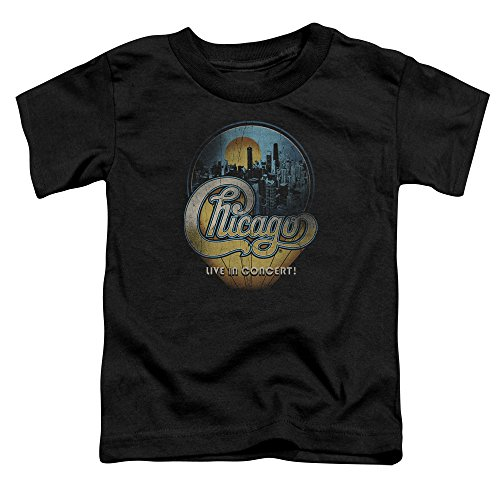 Chicago - Kleinkinder Live-T-Shirt, 4T, Black (Chicago Kleinkind-shirt)