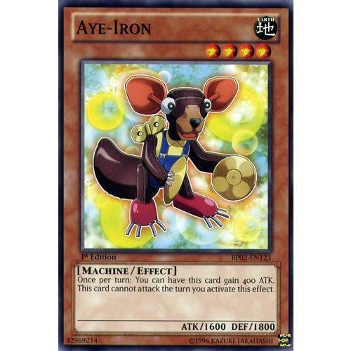 Yu-Gi-Oh!: BP02 EN123, 1. Aye Eisen Mosaik-Rare Karte, War der Giants Battle Pack Yu-Gi-Oh Einzelkarte