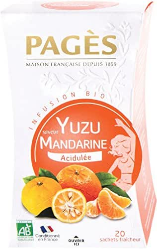 Pagès Infusion Tilleul Mandarine Bio 20 Sachets -