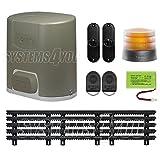 Kit pour portails coulissant Somfy Elixo 500 - 3S RTS - Pack confort avec la...