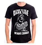 T-Shirt Star Wars - Come to The Dark Side, We Have Cookies (Taille M)