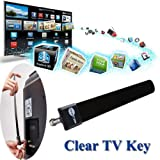 AST Works Hot Clear TV Key HDTV Free TV Digital Indoor Antenna Ditch
