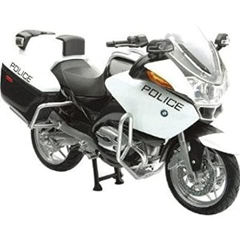 New Ray - 67623 - Véhicule Miniature - Moto BMW R 1200 Police US - Echelle 1/18