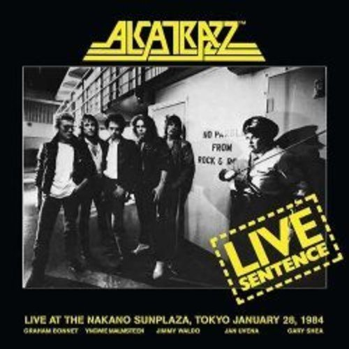 Live Sentence: 2 Disc Deluxe Edition by ALCATRAZZ