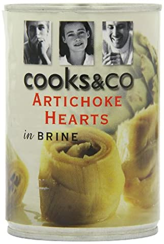 Cooks&Co Artichoke Hearts 390g (Pack of 6)
