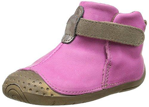 Babybotte Zak 4, Chaussures Quatre Pattes (1-10 mois) Bébé Fille, Rose (092 Fuchsia/Taupe), 19 EU