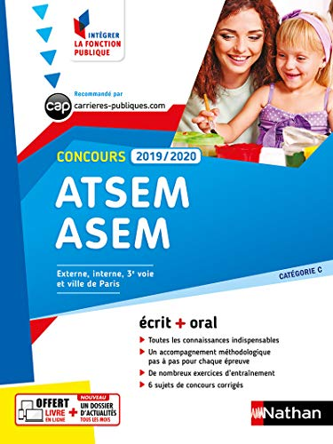 Concours ATSEM-ASEM 2019-2020 écrit + oral par Louisa REBIH