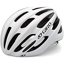 Giro Foray - Casco de ciclismo unisex, color blanco/plateado (matte white/silver), 59-63 cm