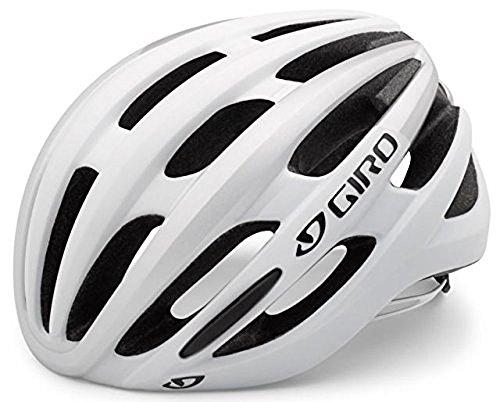Giro Damen Fahrradhelm Foray 16, Mat White/Silver, 51-55 cm, 200101004