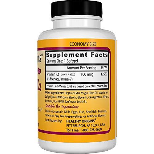Zoom IMG-2 healthy origins naturale vitamina k2