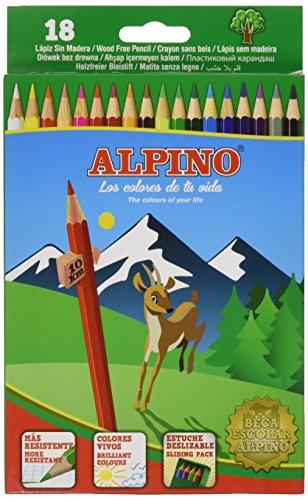 Alpino AL010656 – Estuche 18 lápices