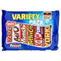 Nestle Mixed Multipack Chocolate Bars, 264 g, Pack of 12