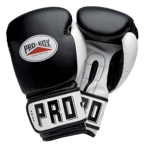 Nueva Pro-Box Club Essentials entrenamiento piel guantes