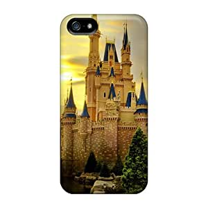New Cinderella Castle Cases Compatible With Iphone 5/5s