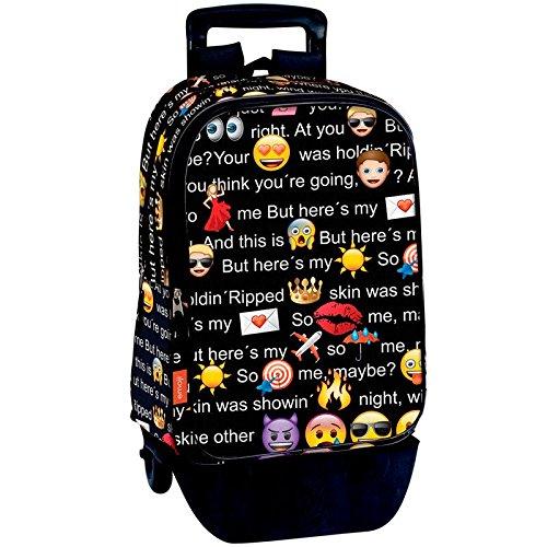 Imagen de perona 54228 emoji  escolar, 43 cm, multicolor