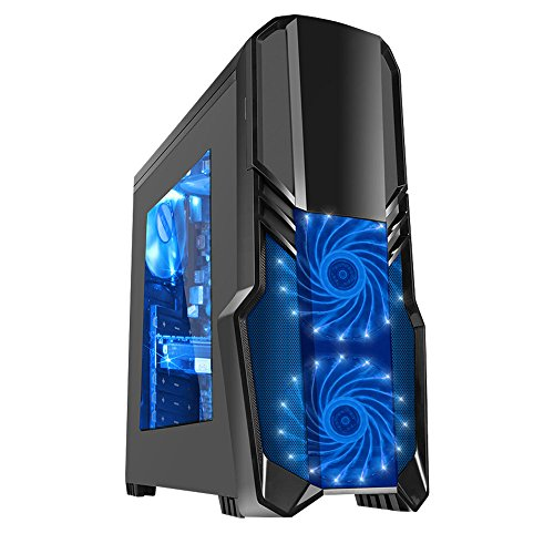 Fierce PC Fierce TERRA Gaming PC - 3.9GHz Dual Core A4-6300 AMD Processor, 8GB Performance Gaming Memory, 1TB Hard Drive, WIFI - Perfect for Basic Gaming, Home Office, Family, University, College - 220028
