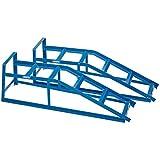 Draper 23216 - Rampas para vehículos (carga máx. 2 T, 2 unidades)