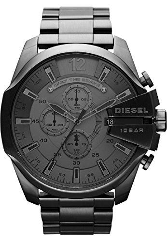 diesel-herren-armbanduhr-analog-quarz-one-size-grau-grau