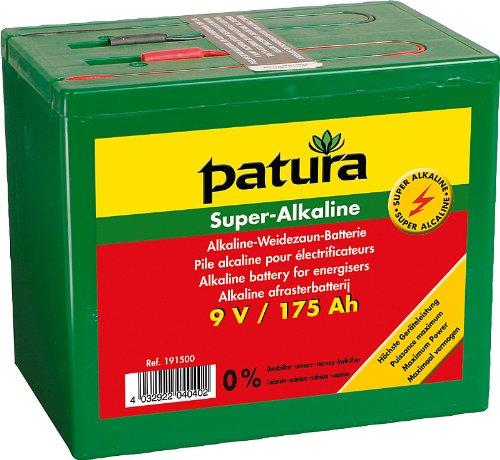 Super-Alkaline Weidezaun-Batterie 9 V / 75 Ah - 190700