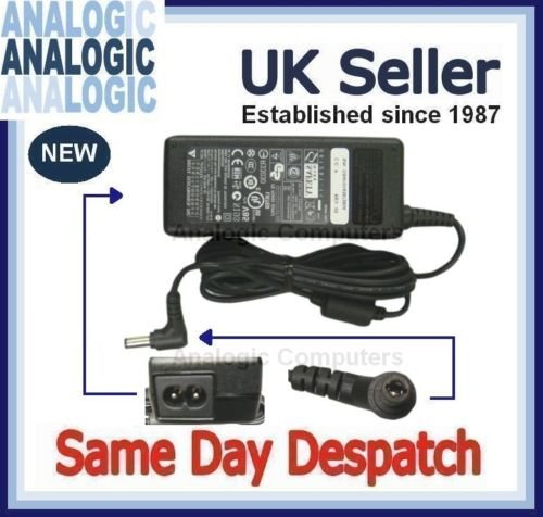 Analogic Computers 20V 3.25A Advent 9000Series 9617Adapter Akku PSU -