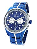 Cerruti CRA150SBLS03MBLT - Montre chronographe pour homme avec bracelet en acier...