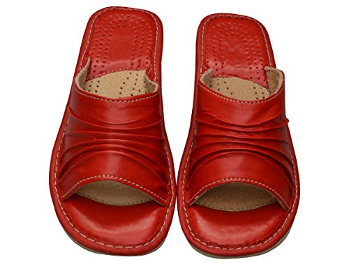 Bawal, Pantofole donna Rosso (Rosso)