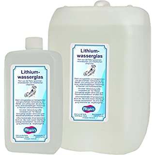 Algin Lithiumwasserglas 6 Liter Verkieselung Beton- Verfestigung