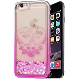 "Iphone 6 Coque Silicone, Coque Iphone 6S silicone, Nnopbeclik® (4.7 Pouce) Colorful Paillettes Briller Style Backcover Doux Soft Dégradé de Couleur Housse pour Apple Iphone 6 / Iphone 6S Antichoc Protection Antiglisse Anti-Scratch Etui ""NOT FOR IPHONE 6S PLUS 5.5"" - [Hibou]"