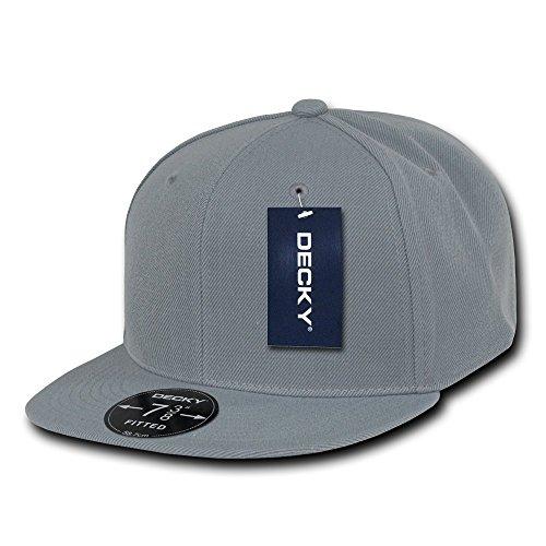 Decky Retro Fitted Caps Head Wear, Herren, grau, Size 29 Preisvergleich