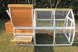 Hühnerstall  für Hühner Hasen Geflügel Vögel+Nistkasten