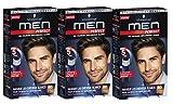Schwarzkopf Men Perfect sanften Farbe Gel Natürlich mittel braun–60Natürliche Medium braun (3er Pack)
