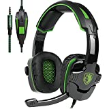 SADES SA-930 3.5mm Gaming Headsets with Microphone Noise Cancellation Music Headphones