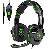 Docooler SADES SA-930 3.5mm Gaming Headsets with Mic Noise Cancellation Stereo Music Headphones