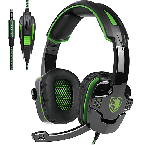 Docooler SADES SA-930 3,5-mm-Gaming-Headsets mit Mikrofon Noise Cancellation Musik-Kopfhörer für PS4 New Xbox One Laptop Tablet PC Mobile Phones