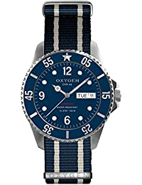 University Sports Press EX-D-ADM-44-NN-NAIVNA - Reloj de cuarzo unisex, correa de nailon color azul