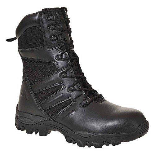 SUW–Steelite Taskforce Workwear Knöchel Sicherheitsstiefel S3HRO, EU 41 - UK 7, schwarz, 1