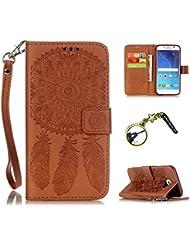 Silikon Schutz hülle Samsung Galaxy S6 Soft TPU Handyhülle Painted Pattern Hülle Handy Case Dünne Tasche Cover Schutzhülle Schale Tasche Lederhülle mit (+Eiffelturm Staubstecker )
