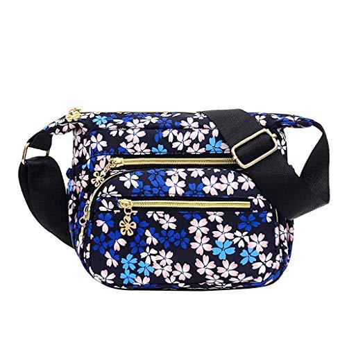 Zzxian moda borsa a spalla impermeabile etnici grande 4 colori borse tote borsa a tracolla donna eleganti borsetta borsellino borsello per regalo viaggio lavoro shopper (multicolore)