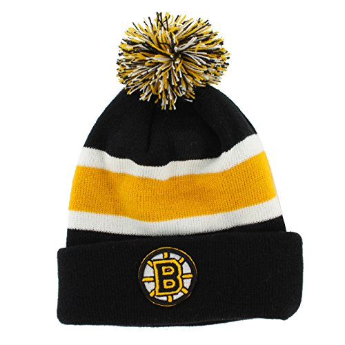 more photos d9777 5ab52  47 Brand NHL Boston Bruins Breakaway Cuff Knit Beany Hat One Size Mütze  Forty Seven.
