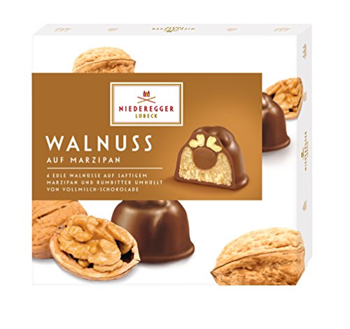 Niederegger Marzipan Pralinés \'Walnuss\', 2er Pack (2x 102 g)