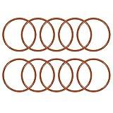 Sourcingmap guarnizione O-ring in silicone, Ø esterno 20mm-75mm, anelli guarnizione rosso, a18032900ux0304