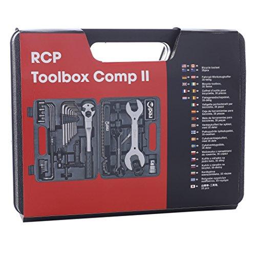 Red Cycling Products Toolbox Comp II Werkzeugkoffer 35 tlg. 2017 Werkstattausrüstung