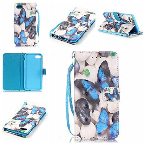 Owbb hibou Housse en PU cuir de protection pour iPhone 7 étui coque de téléphone Color 04