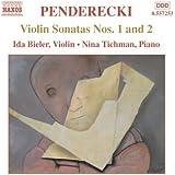 Penderecki : Sonates pour violon n° 1 et 2