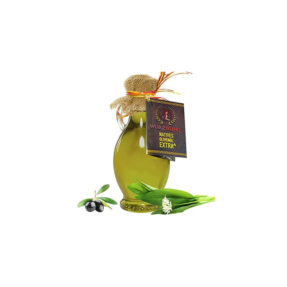 Brlauchl Brlauch Gewrzl Natives Olivenl Mit Naturreinem Brlauch Extrakt Und Reinen Therischen Gewrzlen Flasche 250ml
